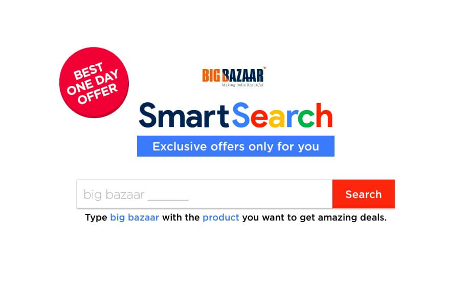 Big Bazaar Smart Search Offer: Get Rs 250 Off On Purchase Worth Of Rs 1000