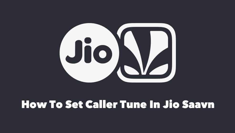 How To Set Caller Tune In Jio Saavn