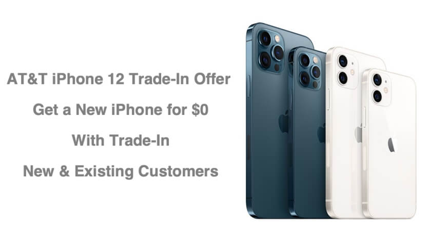 AT&T iPhone 12 Trade In Offer