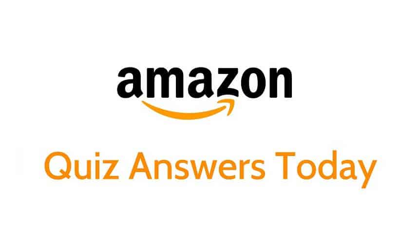Amazon Quiz 13 September 2019 Answers Today: Win Prizes