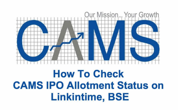 How To Check CAMS IPO Allotment Status