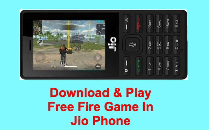 How To Download Free Fire Game On Jio Phone & Play Online | GadgetGrasp