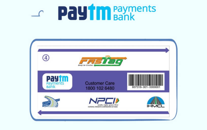 How to Activate FasTag from Paytm
