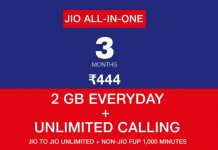 Jio Rs 444 Recharge Offer