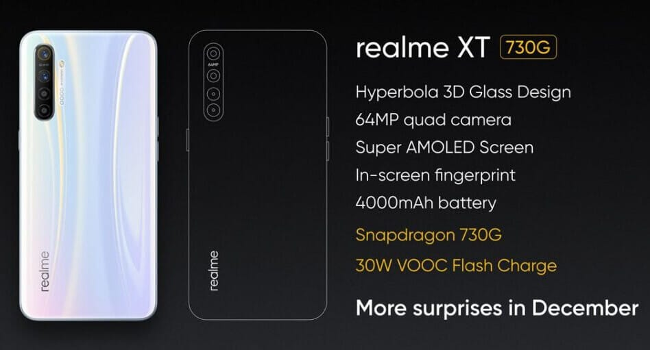 Realme X2 Realme XT Specification