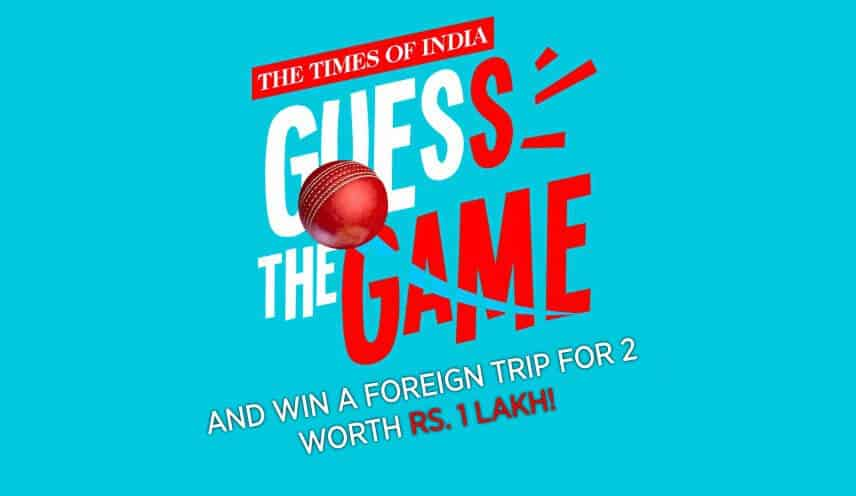 TOI Guess The Game Answers