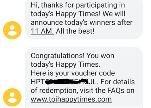 TOI HappyTimes Quiz Answers Today (13 August): Win ₹200 Off Zomato