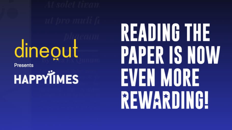 Times of India TOI Dineout HappyTimes Quiz Answers