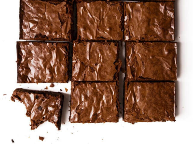 brownie picture on facebook I thought these were brownies