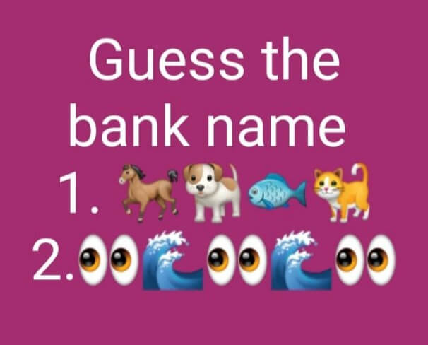 guess the bank name answers
